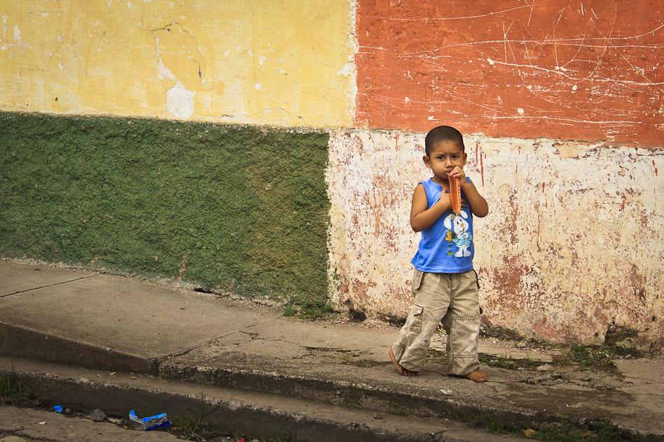 Photo of the Week: Walking Down the Street in Copan Ruinas, Honduras