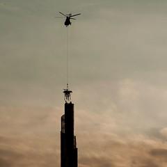 Spire 01 - Torre Garibaldi - Milano (raffaele rossiello) Tags: skyscraper torre milano spire grattacielo garibaldi elicottero elicopter