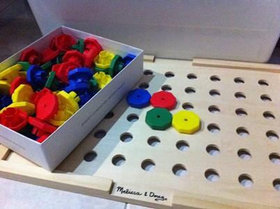 Montessori Peg Board