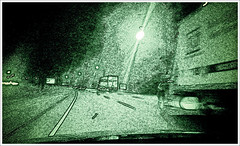 Interstate 91 at Night  (9/365) (Pentax K-x Connecticut Man) Tags: cameraphone usa adobephotoshop connecticut edited gingerbread cellphone samsung ct smartphone nik sprint android meriden wallingfordct cs5 meridenct galaxys lightroom3 topazadjust androidart camera360 epic4g