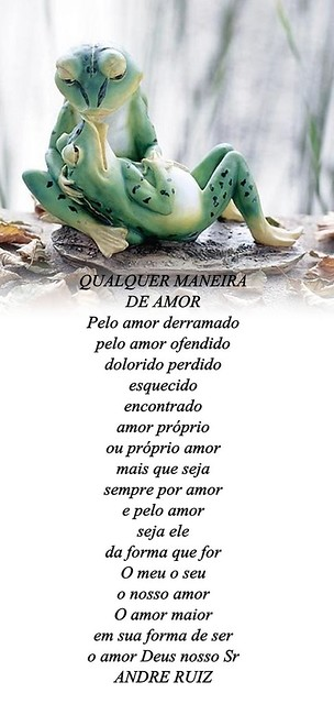 QUALQUER MANEIRA DE AMOR