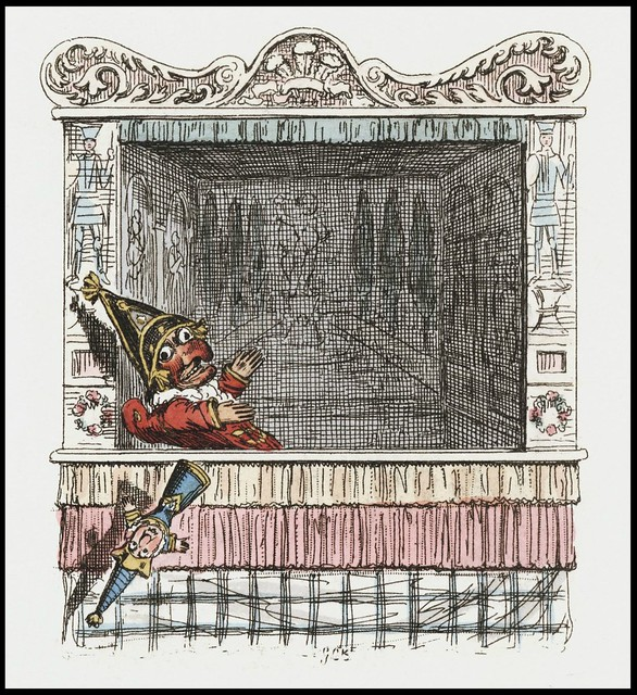 Punch and Judy by George Cruikshank, 1828 q
