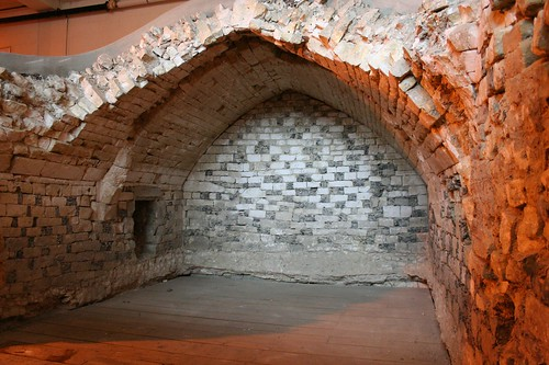 The medieval undercroft