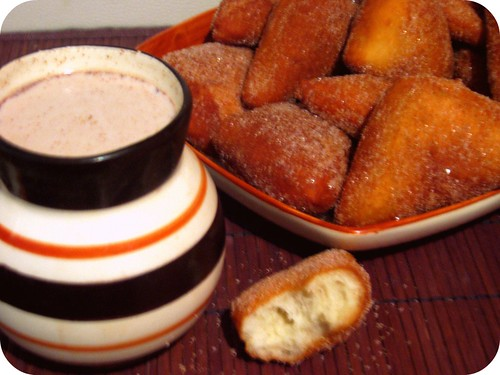 Sopapillas y Chocolate