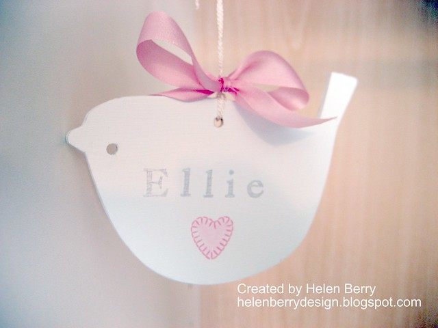 Little Ellie Bird Hanger