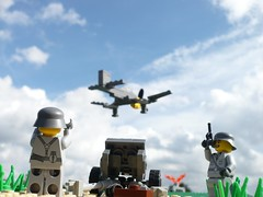 Blitzkreig France (Rebla) Tags: lego wwii ww2 fp