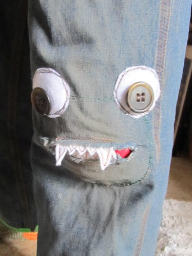monster knee patch