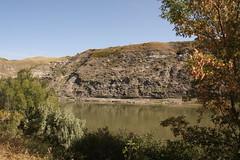 River, Drumheller (carlylutzmann) Tags: canada canon drumheller alberta rebelxsi september2011 carlylutzmann