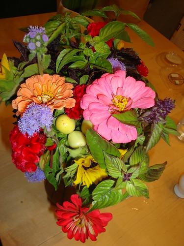 Princeton farmer's mkt flowers 9/10/11