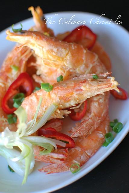 Tôm Rang Muối (Vietnamese Style Crispy Salted Prawns)