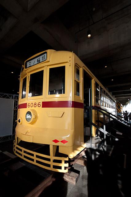 東京の交通100年博 都電6086号車