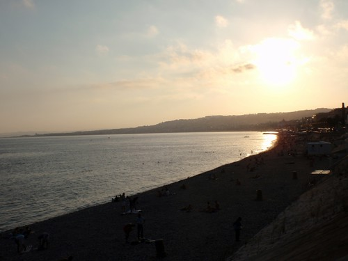 Zatoka aniolow w Nicei