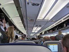 Lufthansa Boarding