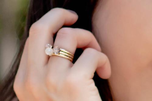 Forever 21 triple bead ring