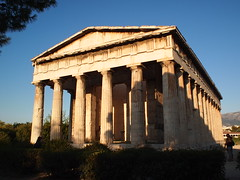 The Temple of Hephaestus (deming131) Tags: temple europe athens greece acropolis greektemple 雅典 歐洲 希臘