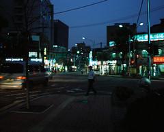 ... (june1777) Tags: street light night pentax takumar kodak snap f45 seoul smc portra 800 67 75mm pentax67 chungmuro