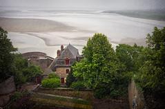 View from Mont-St-Michel (Repp1) Tags: france rain normandie normandy montstmichel d300 cs5 pluiemontstmichelnormandyfrance