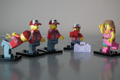Lumberjacks limber up (Paranoid from suffolk) Tags: lego 365 minifigs 2011 minifigures project365