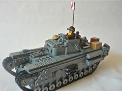 P1060677 (_Harlequin_8) Tags: world two canada army war tank lego military churchill ww2 british mkvii