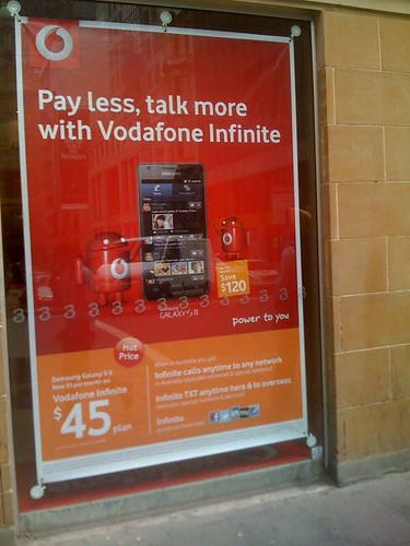 Pay less, Talk more, but don't try to use the Internet in the CBD @Vodafone_au
