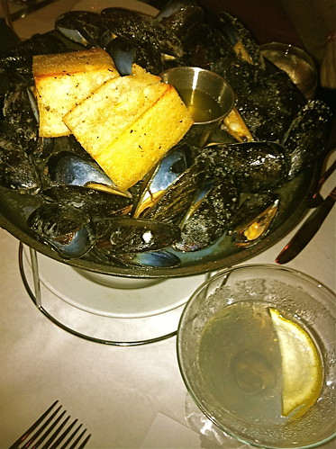 Mussels and Martinis at Timpano's Fort Lauderdale