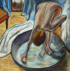 "Edgar Degas's ""The Tub"" • <a style=""font-size:0.8em;"" href=""https://www.flickr.com/photos/78624443@N00/6152926657/"" target=""_blank"">View on Flickr</a>"