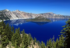 Crater Lake (Cole Chase Photography) Tags: blue oregon canon pacificnorthwest craterlake t3i craterlakenationalpark