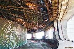 Buzludzha monument inside (Nedko) Tags: building monument ruins communism bulgaria wrecks  buzludzha