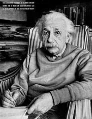 1950 ... Albert looks glum!