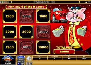 Porky Payout Feature