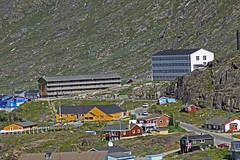 View of Qaqortoq from a lookout point (sobergeorge Thanks for 1.5 million Views) Tags: travel paisajes mountain mountains landscape norge cityscape scenic paisaje lookout greenland paysage townscape landschaft traveler landskap mountainscape groenland qaqortoq deepnorth msmaasdam sobergeorge voyageofthevikings bysobergeorge paisajesasombrosos