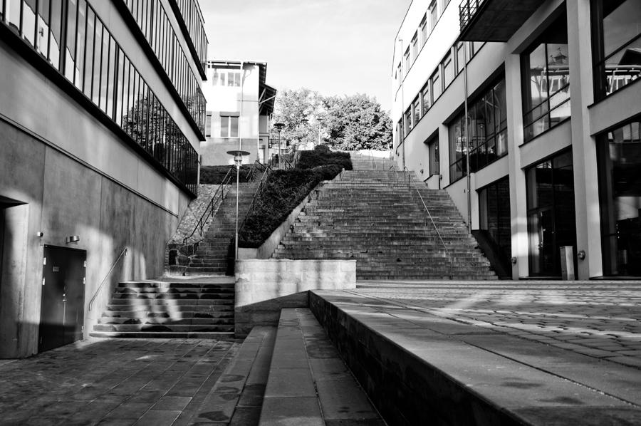 BTH (Karlskrona) stairs