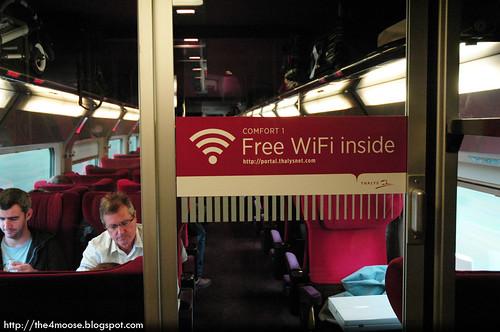 Thalys 9323 - Free Wifi