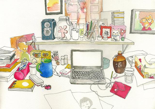 Lynn's Desk