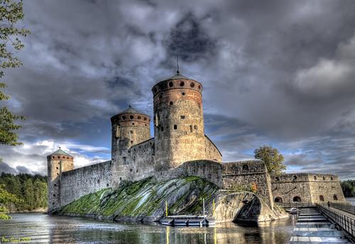 Olavinlinna Castle. Finland. Крепость Олавинлинна. Финляндия.