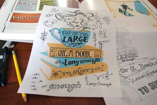 New print doodles