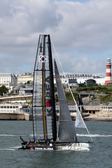 Team Korea Race #2 (JDurston2009) Tags: sailing plymouth catamaran plymouthsound teamkorea ac45 acworldseries americascupworldseries 34thamericascupworldseries sailkoreayachtclub