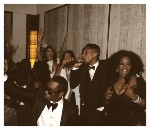 diddy, pharrell and oprah