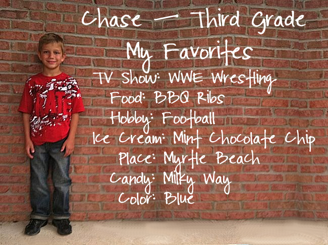 Chase - 3rd Grade