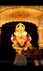 Ganesh Utsav (aniket.bagul) Tags: india festival canon photography eos ganesh pune ganpati 500d dagdusheth shrimant halwai