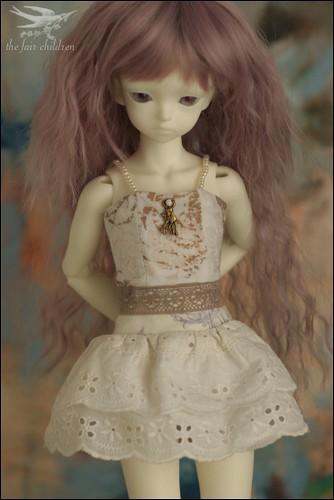 Mocha and lace