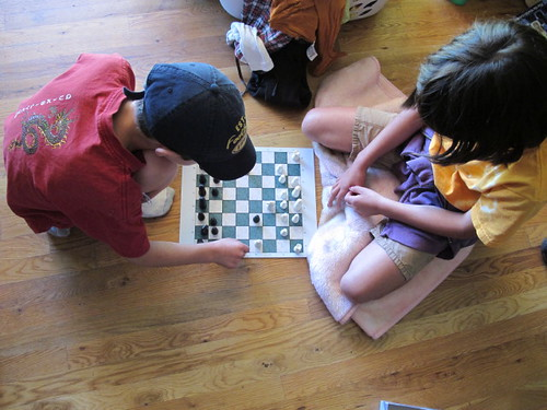 The kids dig chess!
