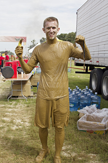 Daniel survives Warrior Dash!
