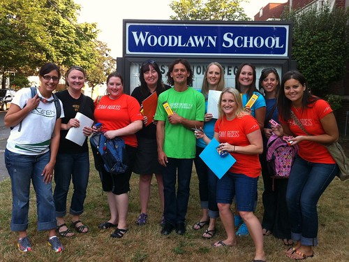 Backpack Donation with Schoolhouse Supplies at Woodlawn Elementary (7)