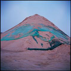 Artificial dune (RayRay Leung) Tags: 6x6 rolleiflex e100vs 28e