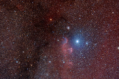 IC59 and IC63, Gamma Cassiopeia region
