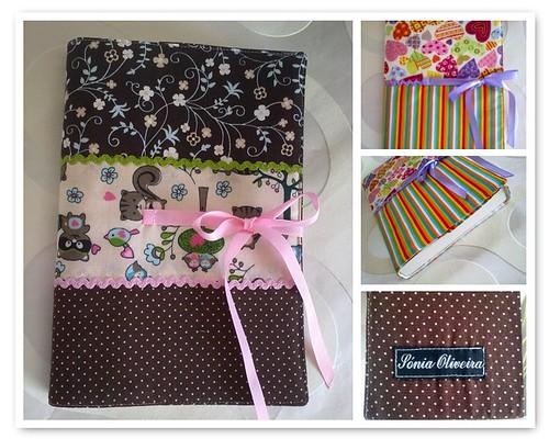 Forras para proteger os livros by ♥Linhas Arrojadas Atelier de costura♥Sonyaxana