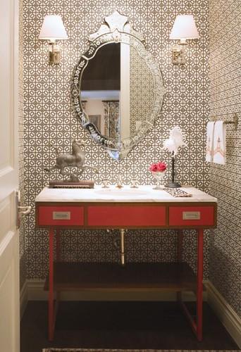 campaign vanity bath