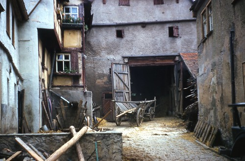 Barn Rothenburg Germany