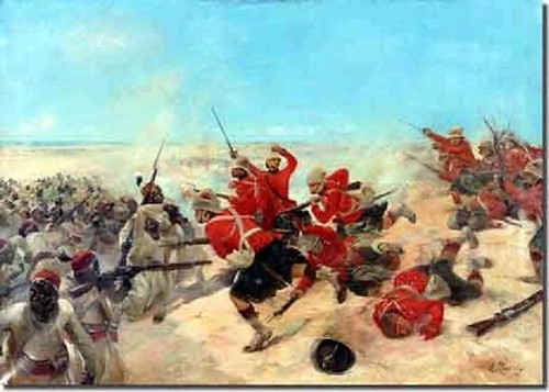 The Battle of Tel-el-Kebir 1882